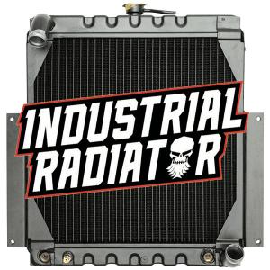 Hyster (Gas) Forklift Radiator - 17 5/8 x 18 x 3 1/8
