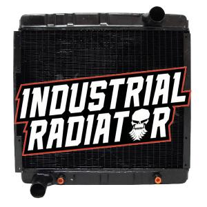 Hyster Forklift Radiator w/o Shroud - 13 7/8 x 17 1/4 x 3