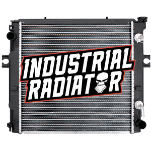 Toyota Forklift Radiator - 17 11/16 x 17 5/8 x 1 7/8 (Square Wave Core)