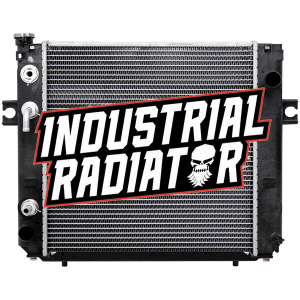 Hyster/Yale Forklift Radiator - 17 x 17 x 1 7/8 (Square Wave Core)