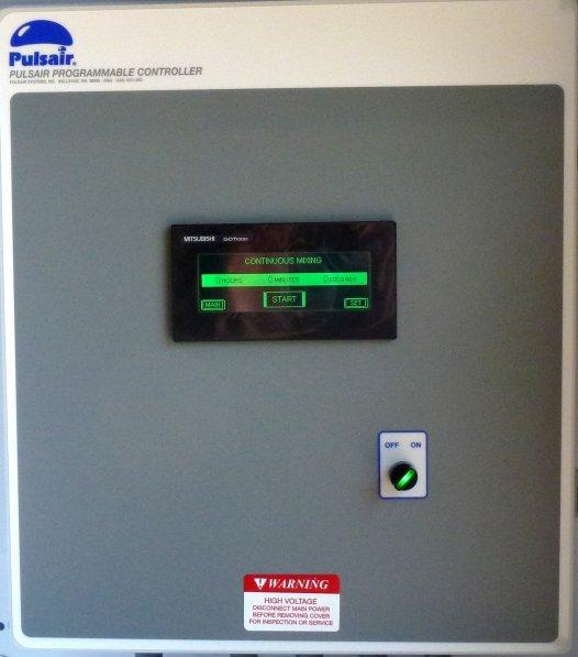 Pulse air mixer controller