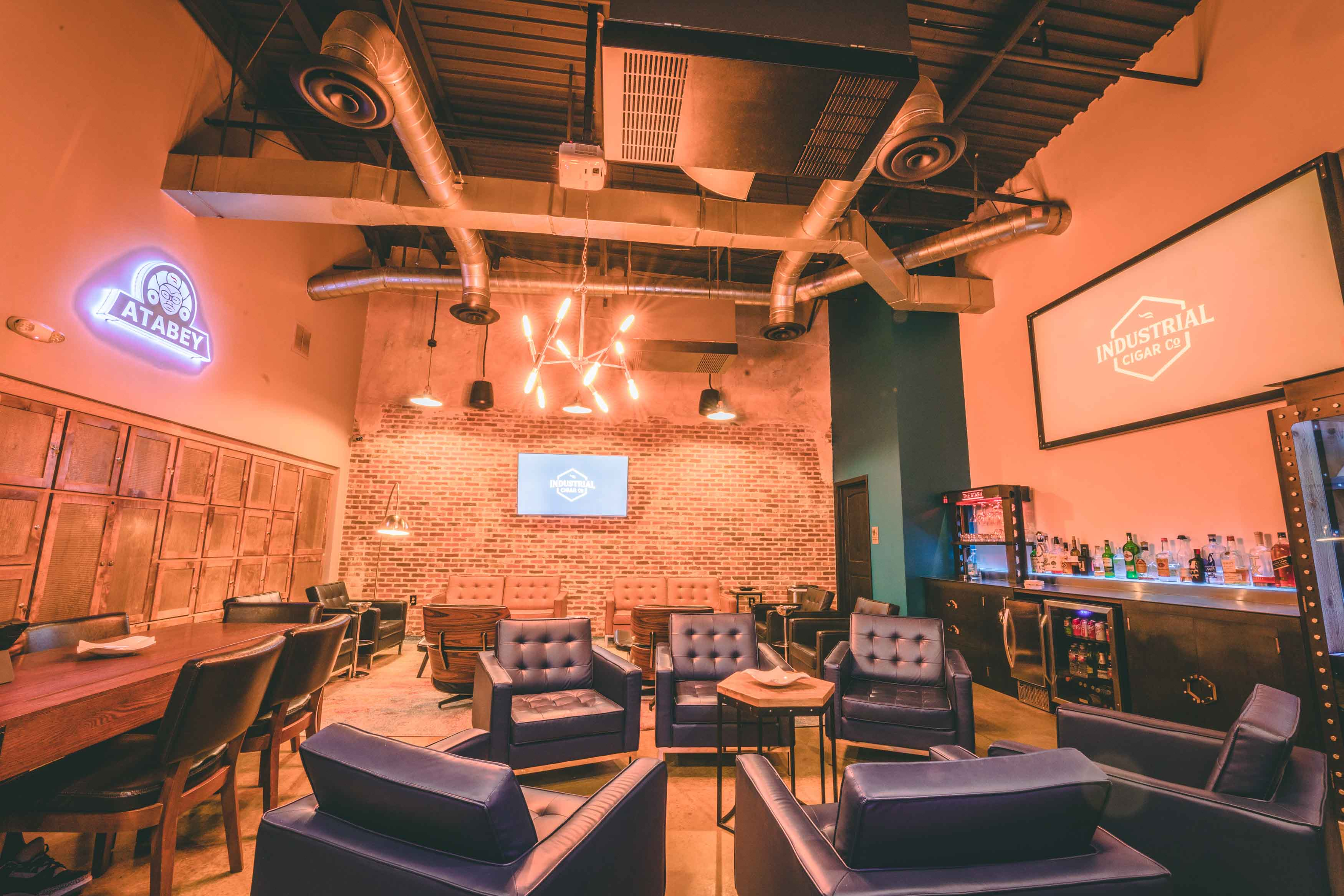 Atabey Private Lounge at Industrial Cigar Co