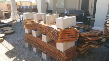Mesquite-slabs