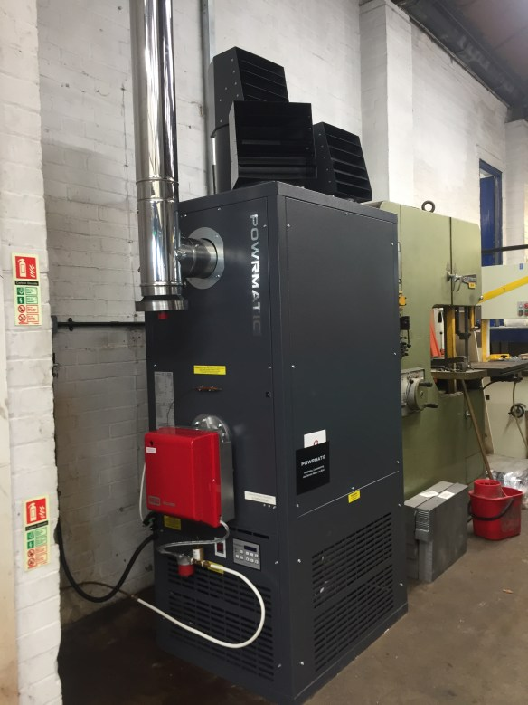 Powrmatic - Gas (Natural and LPG) and Oil Fired Warm Air Cabinet Heaters