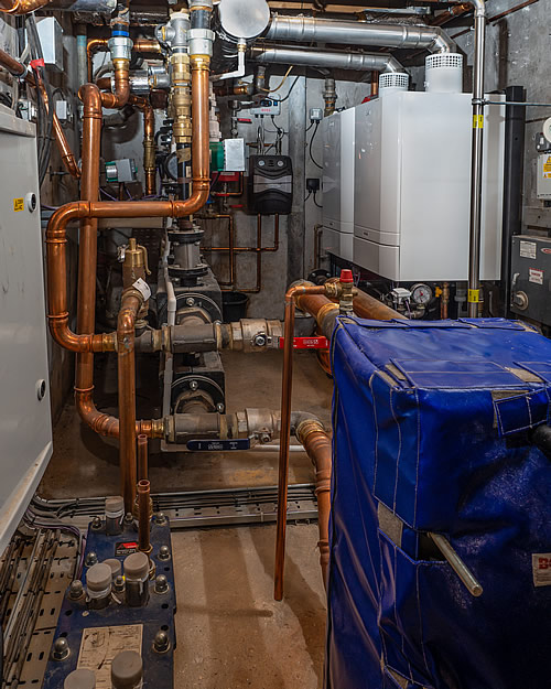 Replacement boiler, New Forest, Hampshire - Industrial Heating engineers