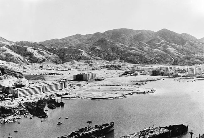 Ship breaking Kwun Tong date unknown