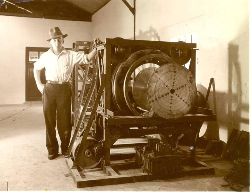 Jock Inglis- Hume Pipe Company