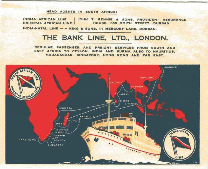 Bank Line Advert