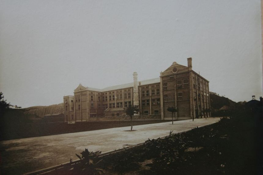 Orient Tobacco Manufactury HK factory HK factory rear view from Edward Schneider