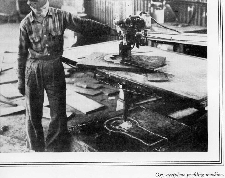 Taikoo Docks Fifty Years of Shipbuilding 1954 facilities Part 3 j