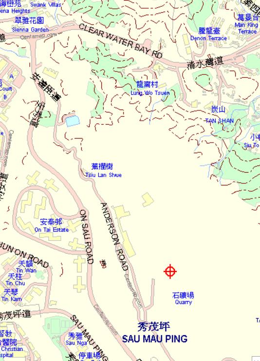 Anderson Road Quarry Map Centamap