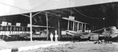 2 Harry Abbotts Curtiss Flying Boats At Cavite, PI