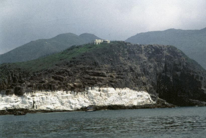 Tathong Light painted white cliffs 1990s HK Memory Courtesy AMO