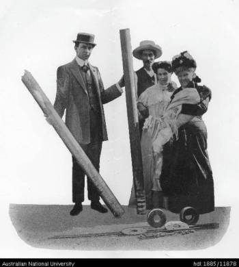 Hume Pipe Company Oz - image of first pipe made