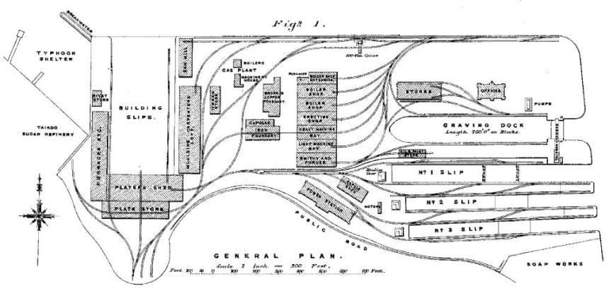 Tai Koo Dock Griffin layout