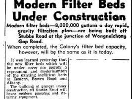 Construction Of Stubbs Road Filtration Plant Detail B, HK Sunday Herald 31 July 1949 From IDJ