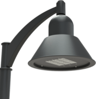 LED Area Site Lighting Bell Luminaire