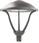 LED Architectural Round Post Top