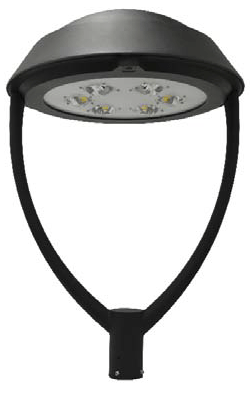 LED Post Top Fixtures Architectural Round 635 Series by Neptun  sc 1 st  Industrial Lighting : led post top lighting - www.canuckmediamonitor.org