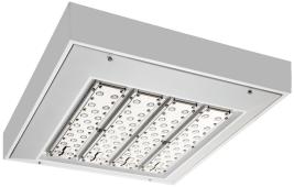 shine led parking garage canopy lighting