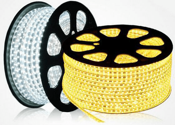 flat led rope light  series white and warm white