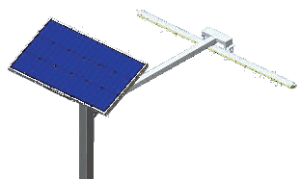 LED Solar Billboard Lights