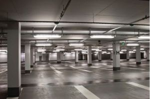 LED T8 Retrofit for Parking Garage Lighting