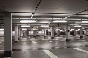 LED T8 Retrofit for Parking Garage Lighting