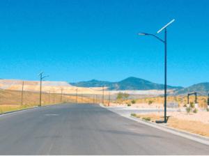 Solar Powered LED Lighting Systems