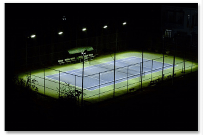 LED Outdoor Tennis Court Lighting