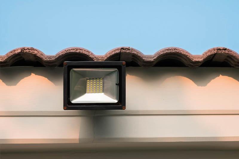 LED courtyard lighting