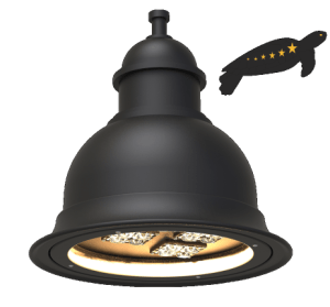Turtle Friendly Amber Lighting