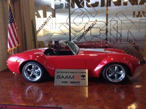 Cincinnati's own 3D printed Shelby Cobra.