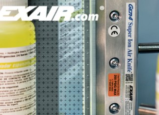EXAIR, Super Ion Air Knife, Air Knife