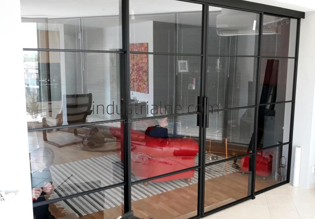 Loftowe drzwi industrialne Gdansk