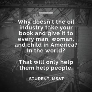 why-doesnt-the-oil-industry-take-your-book-and-give-it-to-every-man-woman-and-child-in-america-in-the-world-that-will-only-help-them-help-people