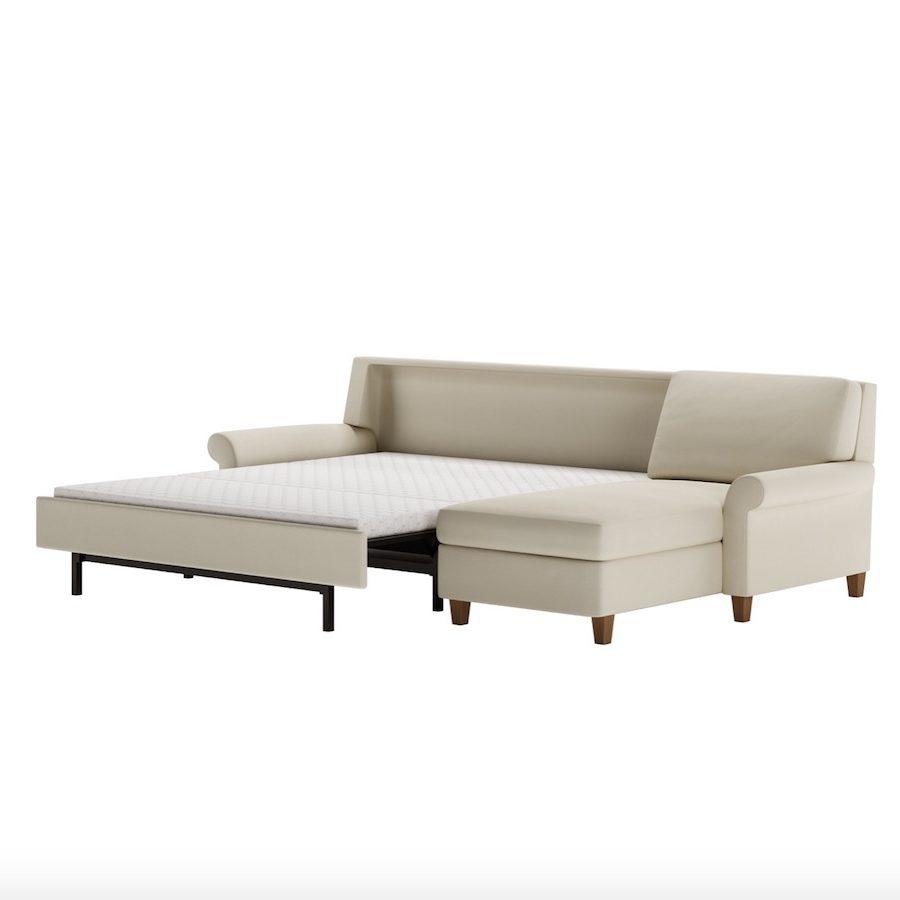 Gibbs Comfort Sleeper Sofa Bed No Bars Springs Sagging