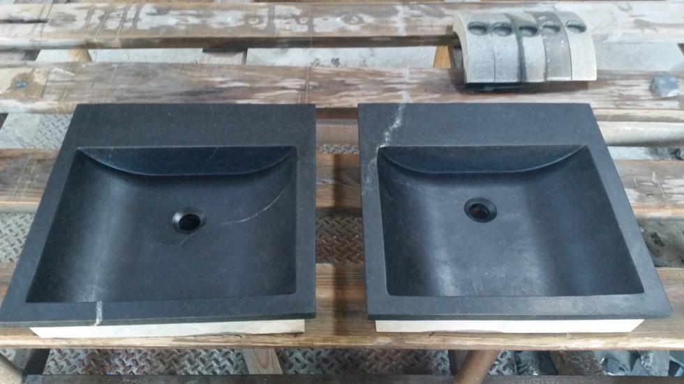 Virginia Soapstone Vanity Sinks