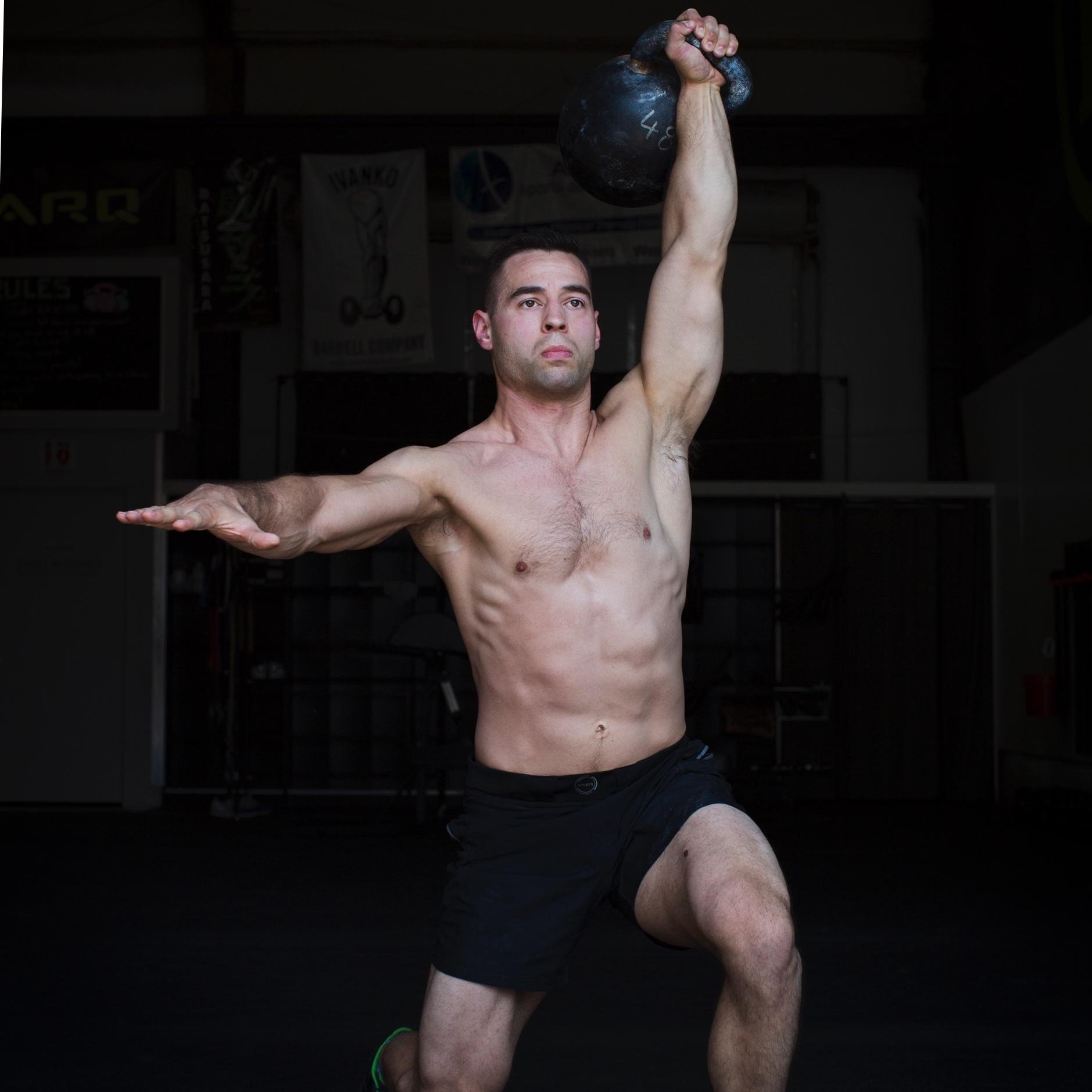 Square chest exercises