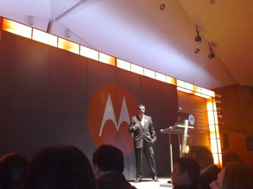 Eduardo Santos, gerente senior de producto Latinoamérica Norte - Motorola