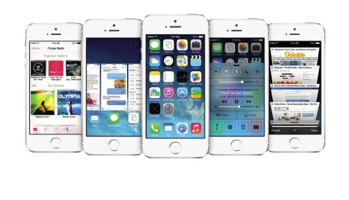 iOS 7 iPhone5s_Low