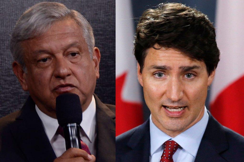 Trudeau habla por teléfono con AMLO; buscan crear trabajos en México y Canadá