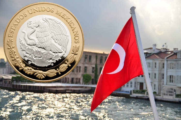 Dólar sube a 19.40 pesos en bancos por crisis en Turquía