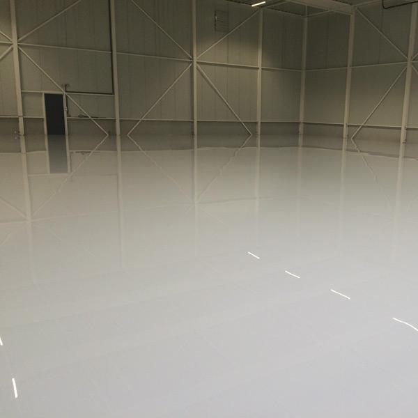 Vloer fabriekshal