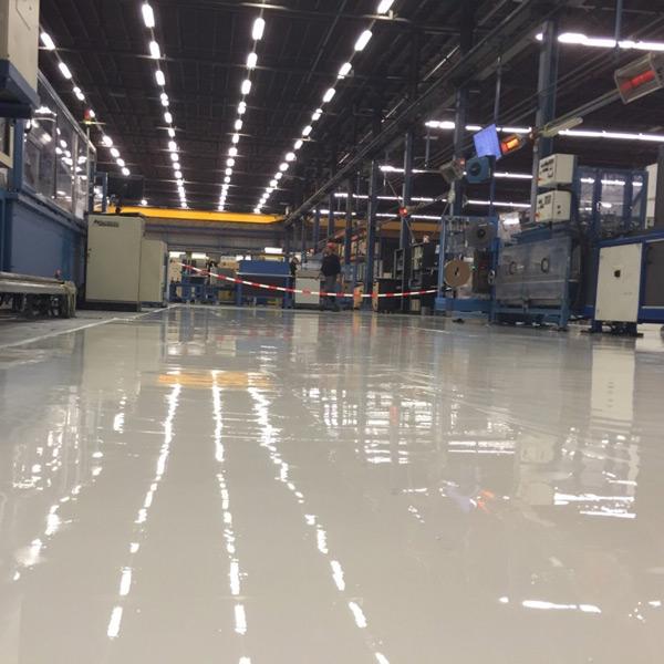 "Industri""le vloer fabriekshal"