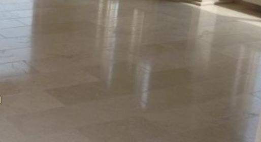 Natuursteen vloer renovatie