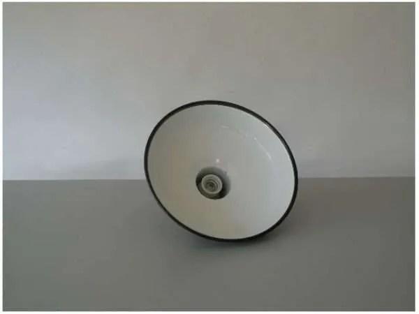 Blauw geemailleerde hanglamp 2