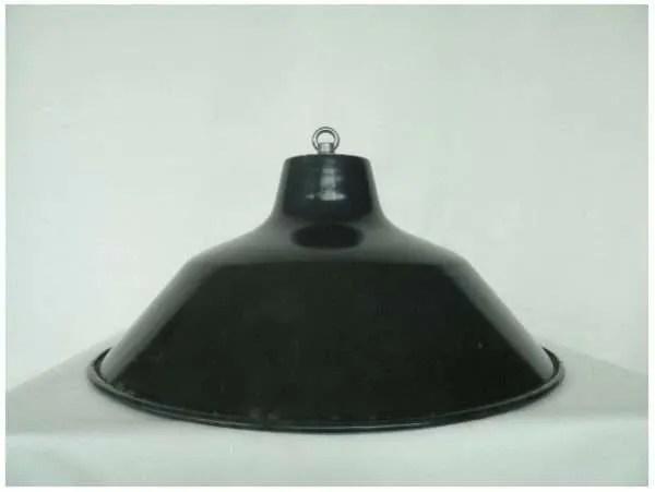 Blauw geemailleerde hanglamp 3