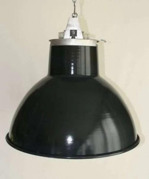 Blauw geemailleerde mazda hanglamp 2