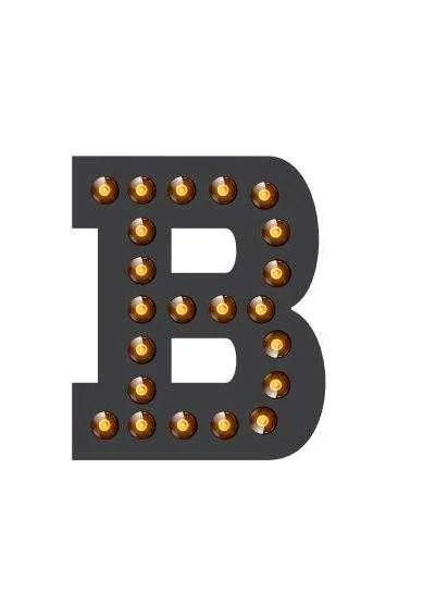 Doosletter staal B concept